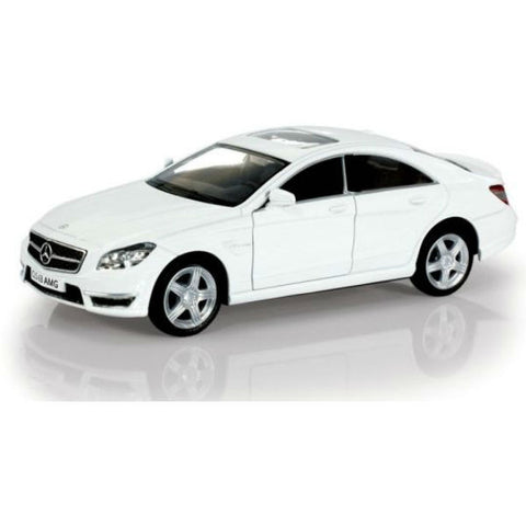RMZ City Mercedes Benz CLS 63 AMG C218 White - Hobbytoys - 1