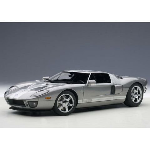 AUTOart 2004 Ford GT 1/18 Grey - Hobbytoys - 1
