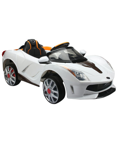 Telsa 116  white colour Battery Operated Ride on car