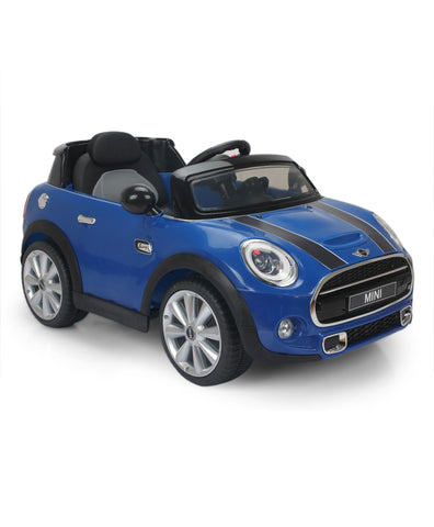 BMW Mini Cooper 195 Blue colour Battery Operated Ride on car
