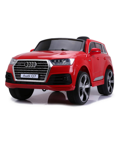 Audi Q7 Red Color Battery Operated Ride on Car