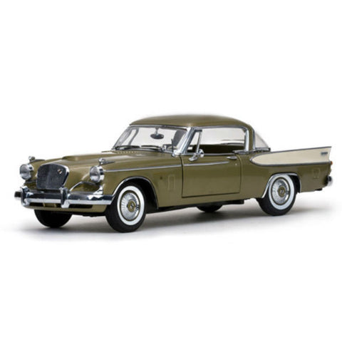 Sun Star 1957 Studebaker Gold Hawk 1/18 - Hobbytoys - 1