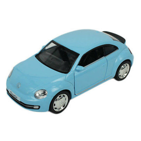 RMZ City Volkswagen New Beetle Blue - Hobbytoys - 1