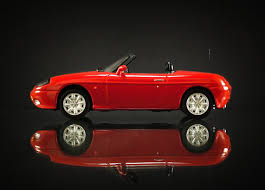 Minichamps Fiat Barchetta Red Car 1/43