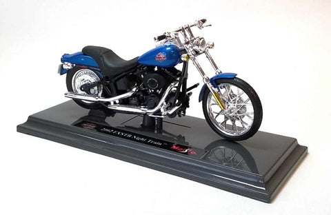 Maisto Harley Davidson 2002 FXSTB Night Train 1/18