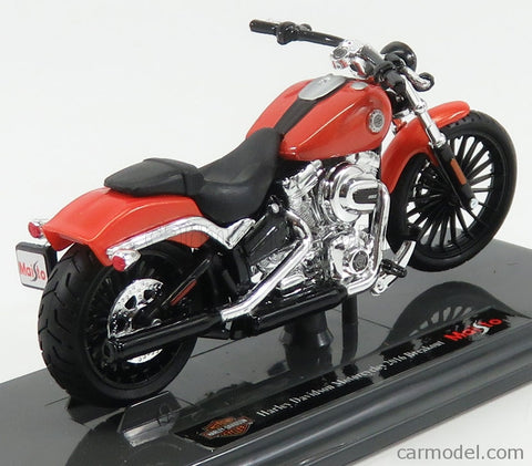 Maisto Harley Davidson Motorcycle 2016 Breakout orange 1/18