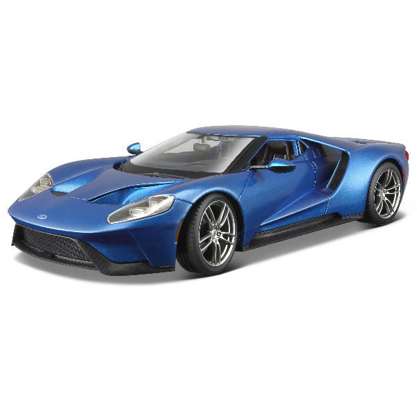 Maisto 2017 Ford GT 1/18 Blue - Hobbytoys