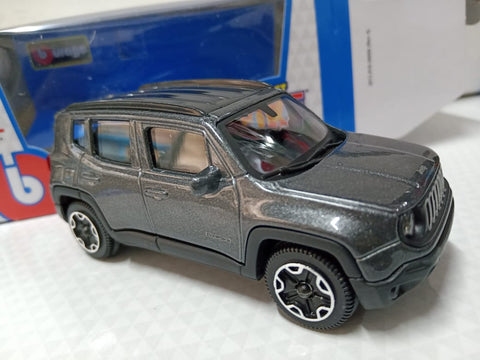 Bburago Street Fire 2017 Jeep Renegade black
