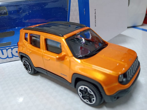 Bburago Street Fire 2017 Jeep Renegade