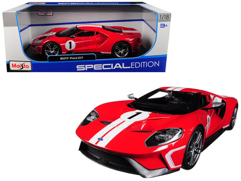 Maisto 2017 Ford GT 1/18 Red