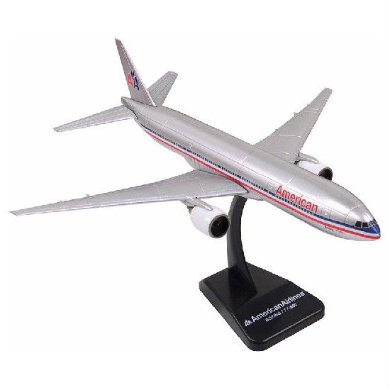New-Ray American Airlines Boeing 777-200 Aeroplane Model Aviation Collectible - Hobbytoys