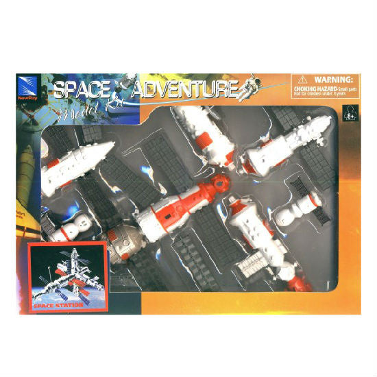 New-Ray Space Adventure Mir Space Station Model Kit - Hobbytoys - 1