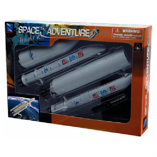 New-Ray Space Adventure Rocket 5 Model Kit - Hobbytoys - 1