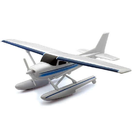 NewRay Cessna 172 Skyhawk with Float Airplane Model Aviation Collectible - Hobbytoys - 1