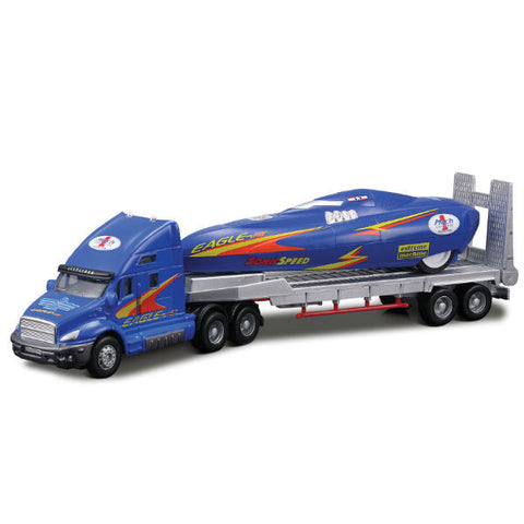 Maisto Fresh Metal Truck Line Eagle Jet Carrier Trailer - Hobbytoys - 1