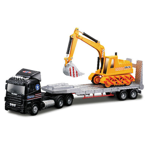 Maisto Fresh Metal Truck Line JCB Carrier Trailer - Hobbytoys - 1
