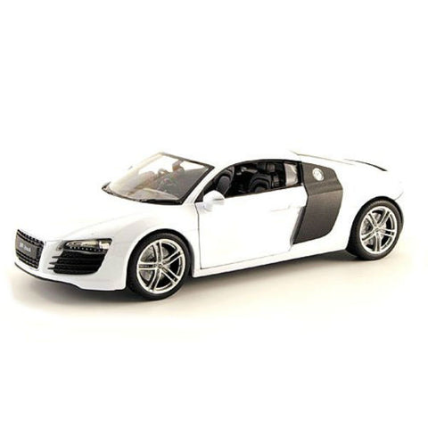 Welly Audi R8 V10 1/24 White - Hobbytoys