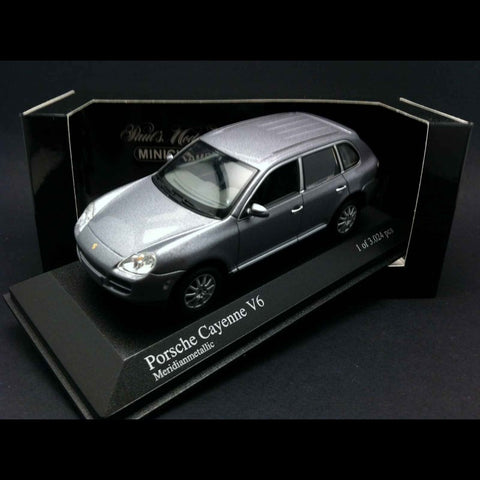Minichamps Porsche Cayenne V6 Car Grey 1/43