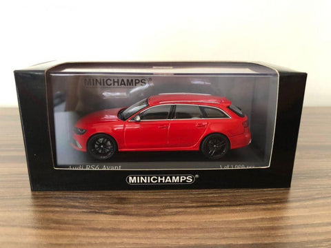 Minichamps Audi A6 Avant Red Car  1/43