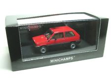 Minichamps Fiat Panda 45 Red black Car 1/43