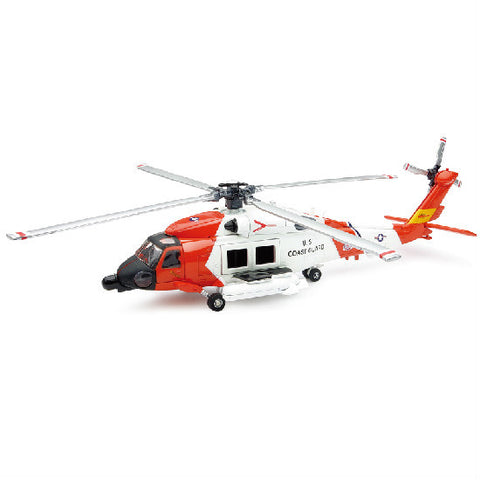 Sikorsky HH-60J Jayhawk New-Ray Diecast Helicopter Model 1:60 - Hobbytoys
