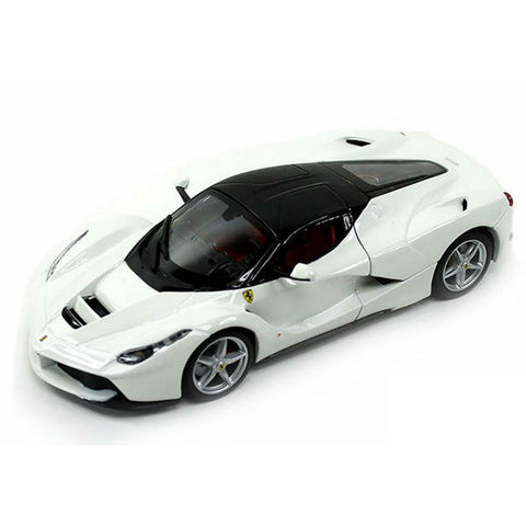 Bburago LaFerrari 1/24 White - Hobbytoys