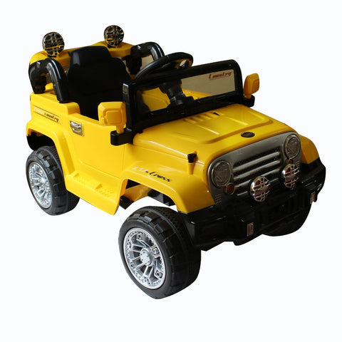 Brunte 245 SUV  yellow colour Battery Operated Ride on