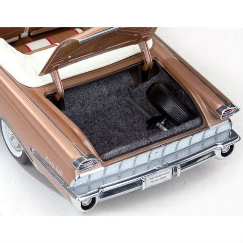 "Sun Star 1959 Oldsmobile ""98"" Open Convertible 1/18 Diecast Toy Model Car - Hobbytoys - 2"