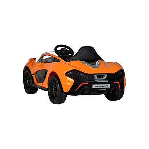 McLaren P1 Orange colour Battery Operated Ride on car