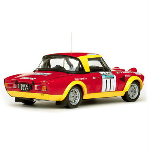 Sun Star Fiat 124 Abarth # 11 M.Verini /F.Rossetti 1/18 Diecast Model Car - Hobbytoys - 2