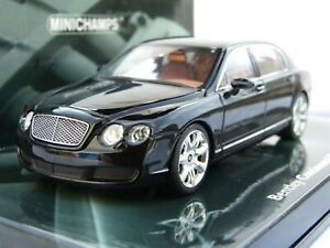 Minichamps Bentley Continental Flying Spur Black Car 1/43