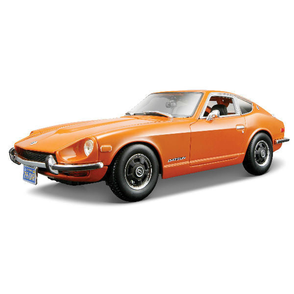 Maisto 1971 Datsun 240Z 1/18 Orange - Hobbytoys