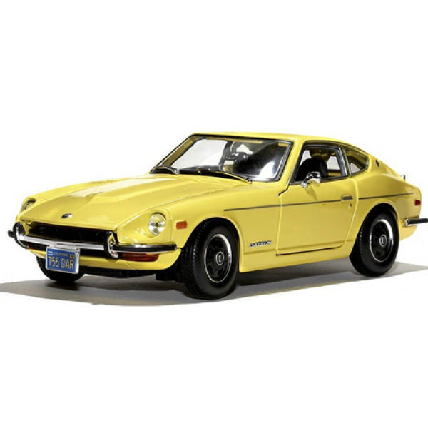 Maisto 1971 Datsun 240Z 1/18 Yellow - Hobbytoys
