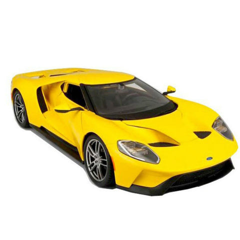 Maisto 2017 Ford GT 1/18 Yellow - Hobbytoys - 2