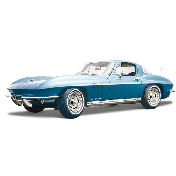 Maisto 1965 Chevrolet Corvette 1/18 Blue - Hobbytoys