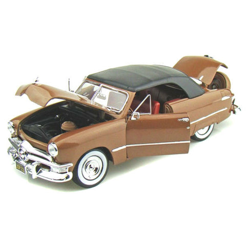 Maisto 1950 Ford Convertible 1/18 Brown