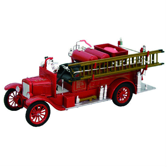 Signature Models 1926 Ford Model T Fire Truck - Hobbytoys