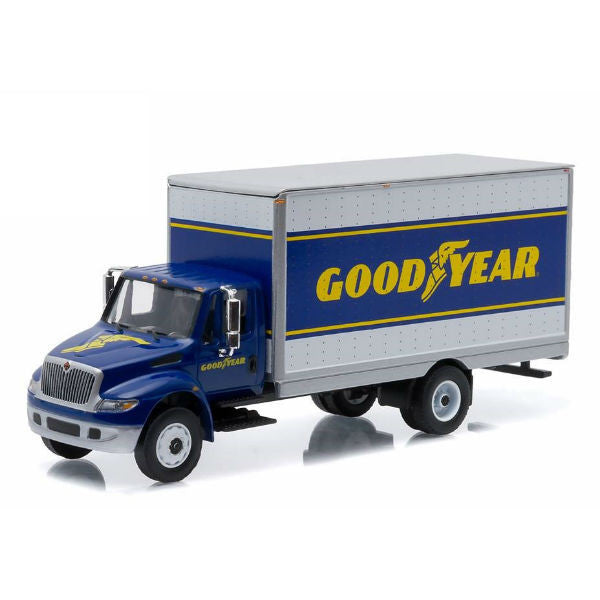 Greenlight 2013 International Durastar 4400 Goodyear Delivery Truck 1/64 - Hobbytoys
