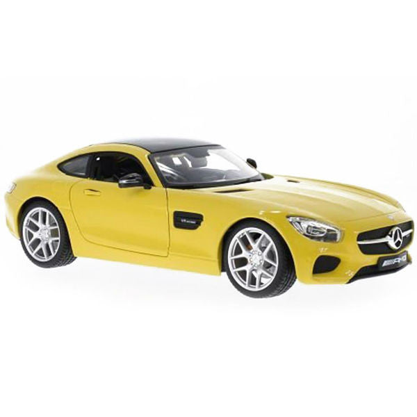 Maisto Mercedes Benz AMG GT 1/18 Yellow - Hobbytoys