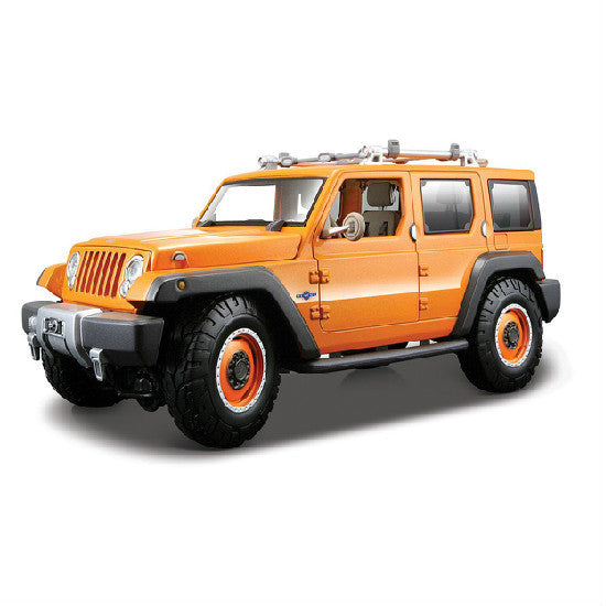 Maisto Jeep Rescue Concept 1:18 Die-cast Scale Model - Orange - Hobbytoys - 1