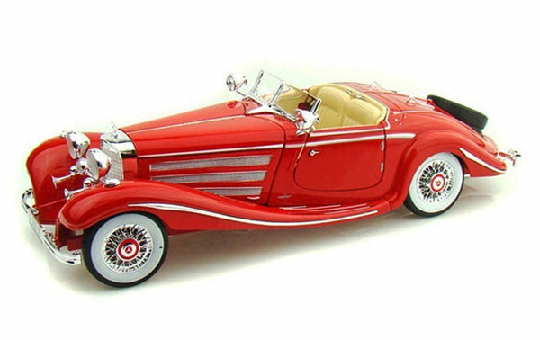 Maisto 1936 Mercedes Benz 500 K Type Special roadster 1/18 Red