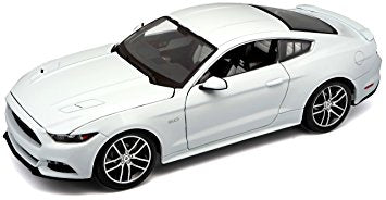 Maisto Exclusive 2015 Ford Mustang 1/18 White