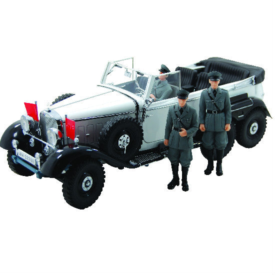Signature Models 1938 Mercedes G4 W/Figures 1/18 - Hobbytoys