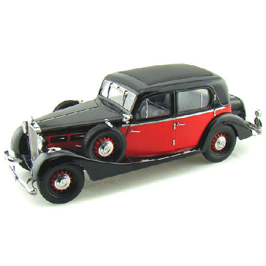 Signature Models 1935 Maybach SW35 Hard Top SPOHN 1/18 - Hobbytoys - 1