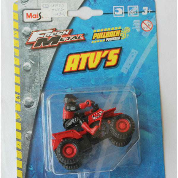 Maisto Fresh Metal 4x4 ATV Toy Model Venom 350 - Hobbytoys