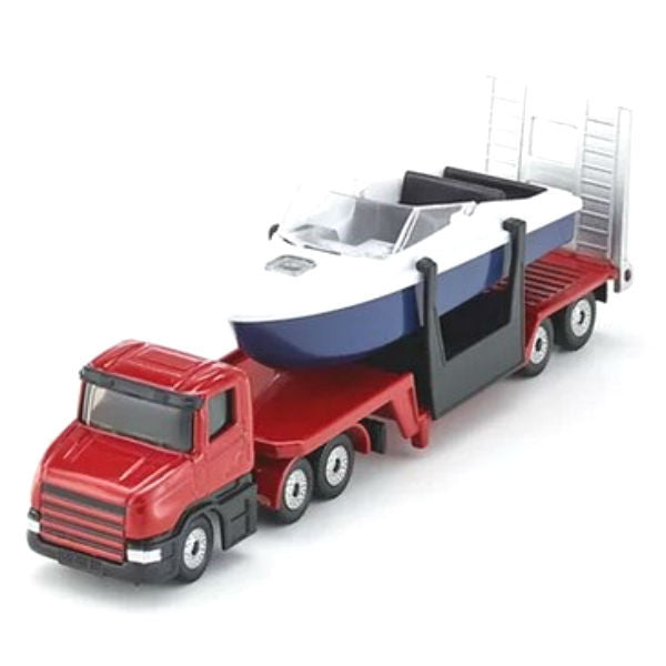 Siku Low Loader With Boat - Hobbytoys - 1