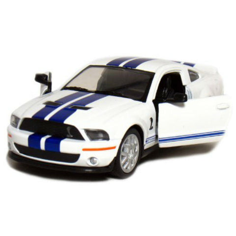 Kinsmart 2007 Ford Shelby GT500 1/38 White