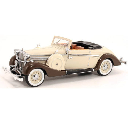 Signature Models 1937 Maybach SW 38 Cabriolet Sport Creme Spohn 1/43 - Hobbytoys