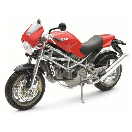 Ducati Monster S4 New-Ray 1:12 Diecast Motorcycle Model - Hobbytoys