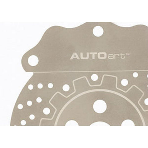 AUTOart Brake Disc Stainless Steel Bookmark